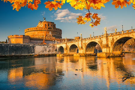 angelo: Saint Angelo castle in Rome Editorial