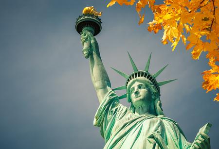iconic: Statue of Liberty Stock Photo