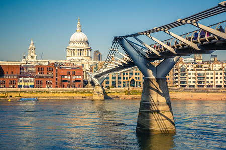 millennium bridge: Millennium bridge in London