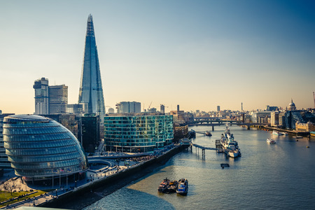 Thames and London City photo