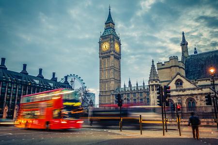 londre nuit: Londres au d�but de la matin�e Banque d'images