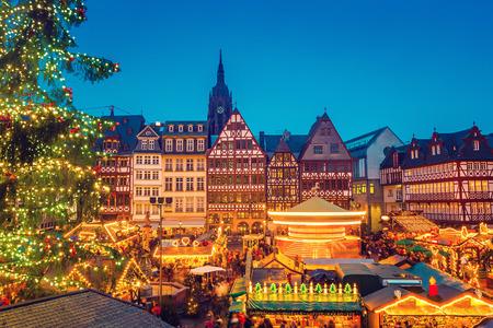 Jarmark Bożonarodzeniowy we Frankfurcie