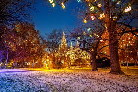 Municipio di Vienna e parco
