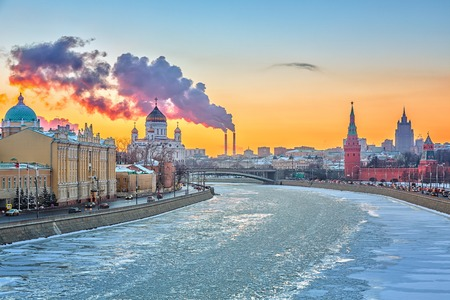 Winter in Moscow photo