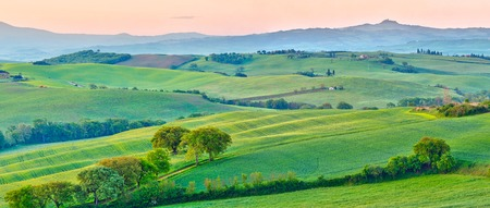 agriturismo: Tuscany at spring