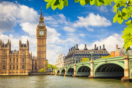 huge: Big Ben, London Stock Photo