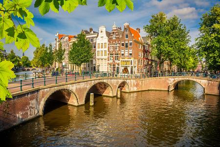 Amsterdam cityscape photo