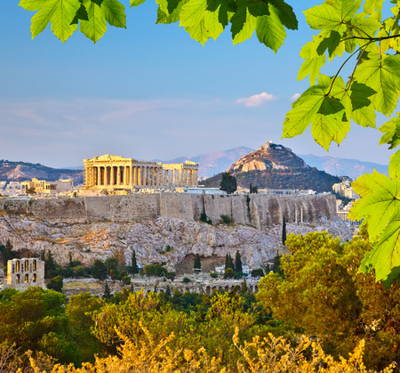 greece: Acropolis in Athens