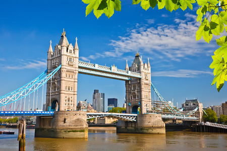 tower bridge: Tower bridge in London Stock Photo