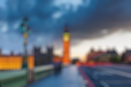 GRANDE: Big Ben al anochecer, Londres