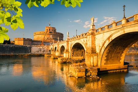 roma antigua: Fortaleza de Sant'Angelo, Roma