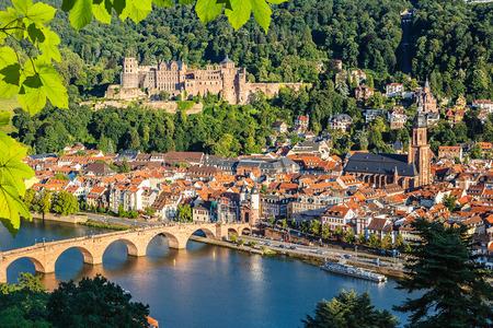 Uitzicht op Heidelberg