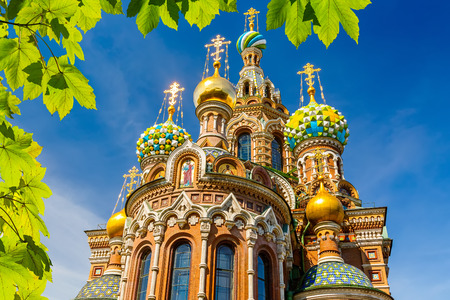 blue church: Church of the Savior on Spilled Blood