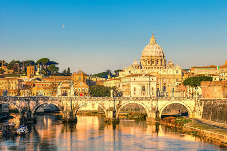 St. Peters cathedral in Rome photo
