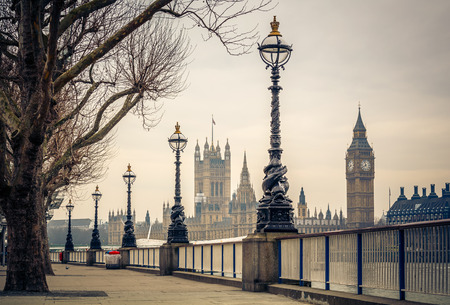 Big Ben and Houses of parliament, London photo
