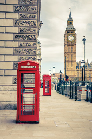 telephone booth: London landmarks