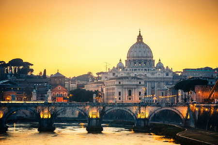 St. Peters cathedral in Rome Banque d'images
