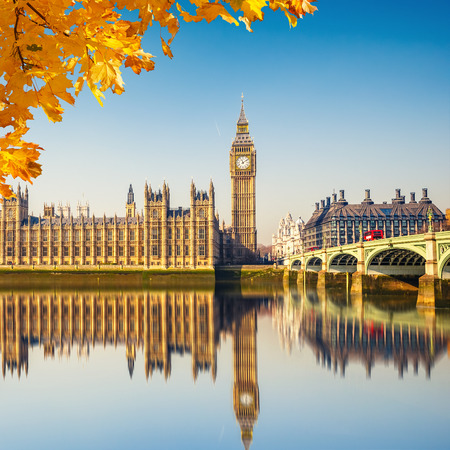 city of westminster: Big Ben and westminster bridge in London