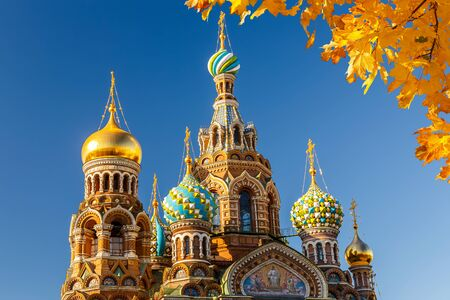 savior: Church of the Savior on Spilled Blood in St. Petersburg, Russia Editorial
