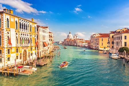beautiful sky: Grand Canal and Basilica Santa Maria della Salute in Venice