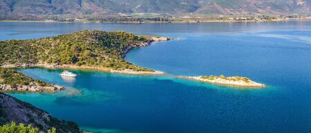 Small island in Aegean sea, Greece Banque d'images