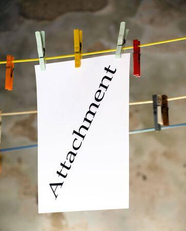 attachment: Attachment Stock Photo