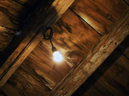 Old house attic Stock Photo - 3564744