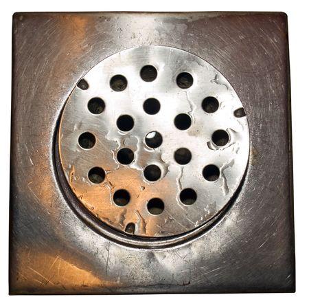 waterleiding: Gewoon een spoelbak water close-up Stockfoto