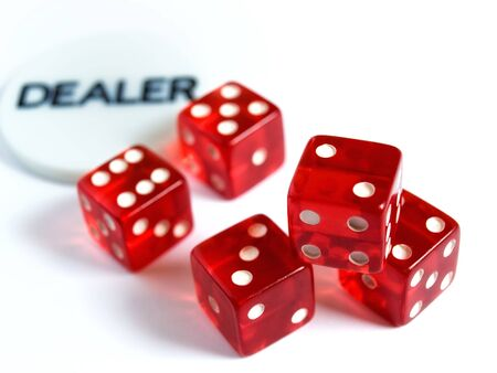 Conceptual image represent occupations or career in gambling or risk in  investment world. Stock Photo - 4794815