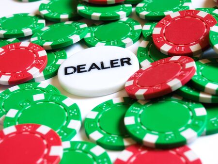 Conceptual image represent occupations or career in gambling or risk investment world. Stock Photo - 4794821
