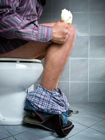 the diarrhea: Una necesidad com�n de cada ser viviente, pero vista caracter�stica s�lo para un hombre...