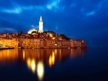Rovinj or Rovigno is a city in Croatia situated on the north Adriatic Sea.