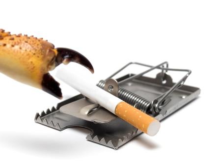 lungenkrebs: Dieses Konzept stellt Kampf gegen das Rauchen und Lungenkrebs Krebsvorsorge... Lizenzfreie Bilder