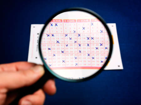 Conceptual view of analysis of lottery numbers Stock Photo - 8866061