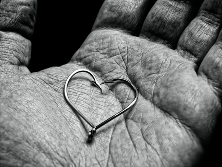 Fisherman love Stock Photo - 9419320