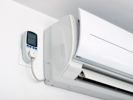 Air-Betrieb setzen auf einem Energie-Messgerät angeschlossen ist.
