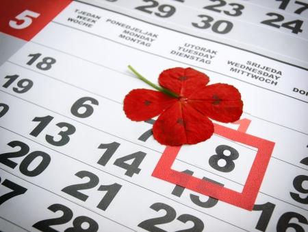 rood kruis: Gemarkeerde Wereld Rode Kruis Dag gemarkeerd in de kalender