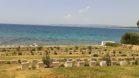 Anzac Cove, Gallipoli Peninsula