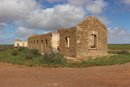 Ruins, South Australia 写真素材