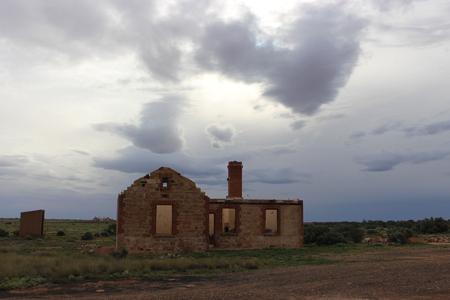 Farina Ruins, Australia Stock Photo