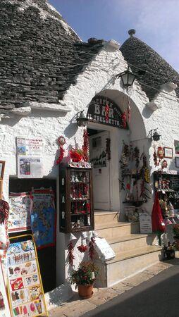 Shop in Alberobello, Italy