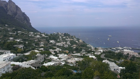 Isle of Capri, Italy Stock Photo