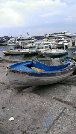 Boat on Beach, Isle of Capri