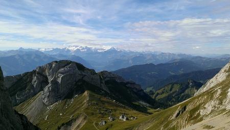 Uitzicht vanaf Mt Pilatus, Zwitserland