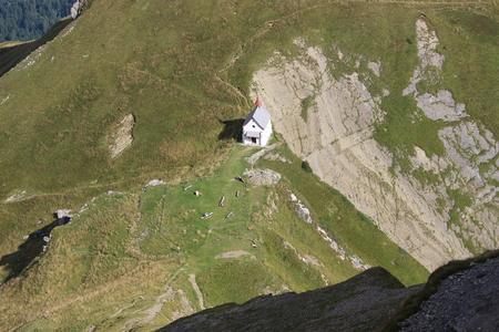 Kerk op Mt Pilatus, Zwitserland