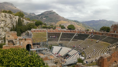 Ancient Theatre, Taormina, Sicily