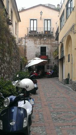 Streets of Taormina, Sicily