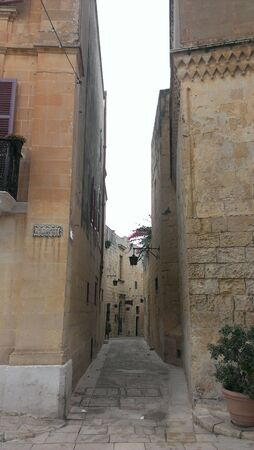 Streets of Mdina, Malta