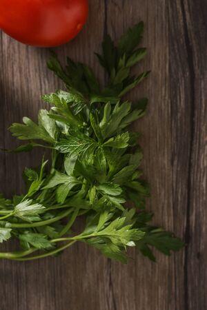 italian parsley on board