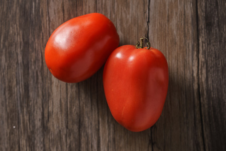 Roma tomatoes on board